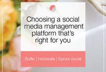 Social Media / Learn everything you need to when it comes to creating and planning content, growing, and capitalizing on your following on Facebook, Twitter, Pinterest, Instagram, Snapchat, Periscope and other social media platforms. Great tips and information for bloggers, entrepreneurs, freelancers, and small businesses.