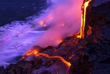 Volcanos and lava