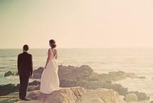 Bride & Groom   Beach