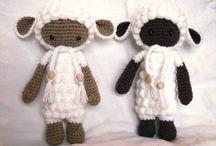 овечка амигуми