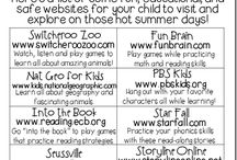 Great ideas for kids / Educational and fun things to do with Children
