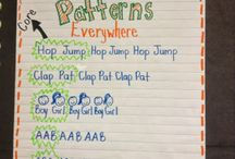 Math - Patterning / Teaching patterning concepts / by Julie Cryer-Newburn