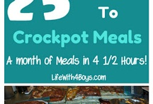 Casserole & Crockpot Meals / by Carolyn Simpson
