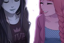 Marceline x Princess Bubblegum