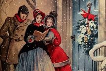 immagini natalizie vintage