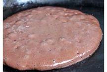2 ingredient chocolate pancakes
