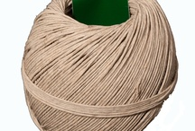 Hemp Twine / Hemp twine is available at Walmart's craft jewelry section in 2 colors: natural and brown. However, Amazon offer a bigger selection of colors http://bit.ly/AmazonHempTwine / by Strawberry Couture Etsy Unique Crochet and Knit Hats Scarves Patterns