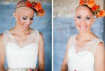 bald head brides