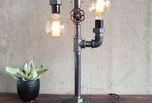 Steampunk Edison lamp
