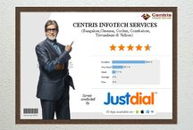 centrisinfotech IT Services /  Software Products-Projects Services IT development Company, incepted in the year 2002, with a clear vision to create a significant difference in the IT industry