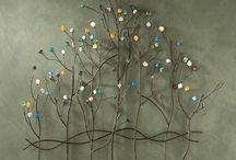 arbolitos de alambre