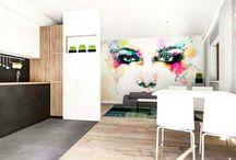 Mieszkanie Swarzędz / Projekt mieszkania w Swarzedzu dla młodej pary #architekt #swarzędz #słupca #września
