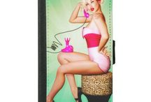 Pinup Phone Cases / Cute, sexy and retro phone cases featuring pinup girls and pin-up art of the 40's 50's & 60's.