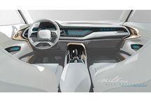 Car Interior Low Design