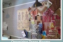 Organizing Teens Bedrooms & Spaces / Getting your teen space organized and pretty! / by Helena Alkhas @ A Personal Organizer