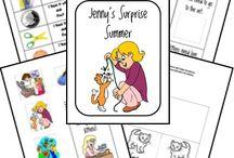 Literature- FIAR- Jenny's Surprise Summer