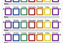 Stickercharts for kids