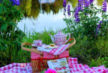 picnic paradise / picnics for 2 / by Stephanie Piddock