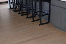"""Cincinnati Interior and Decking Project / 2 1/4"""" White Oak Select with Bona Stains and Finish."""