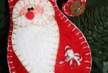 vianočné z filcu