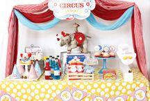 Mason's First Birthday Party Ideas - Circus Birthday Party
