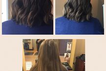 Short cuts / our team here at light salon and spa, will create an amazing transformation by taking off length and giving you a brand new look