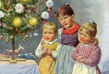 stare karty świąteczne