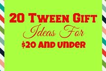 Tween and Teen Girl Gift Ideas / Great gift ideas for tween girls that won't break your budget!