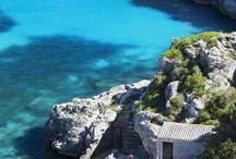Blau de Menorca / Gama de azules de Menorca