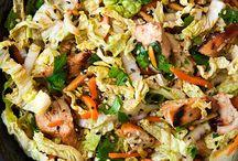 vegetable salads / by Marissa Meyer