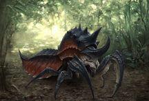 Монстры насекомые