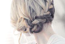 Bridal Hair Up Dos / Inspiration for bridal hair styles including bridal chignons, bridal up dos, bridal plaits