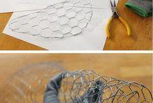 Chicken Wire Crafting