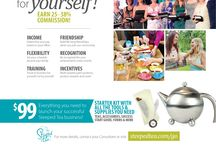 Steeped Tea Catalog Spring/Summer 2015 / Our current catalog for Steeped Tea. http://www.luvmytea.com / by Elizabeth Struck