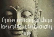 Buddha and the Dalai Lama (mostly quotes, inspired by the Buddha) / The wonderful wisdom of the Buddha and the Dalai Lama: Be a light unto your self.