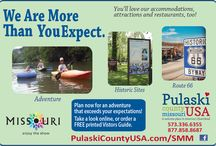 Print Ads & Design / Print ads for Pulaski County Tourism Bureau- Saint Robert, MO.  / by Pulaski County Tourism Bureau & Visitors Center