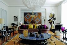 Interiors d'Art / A curated selection of the most outstanding Interiors with Art, Sculpture and Painting. JSB