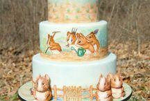 Painted cakes I like