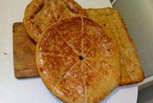 My Sunday Cakes / hand made flat cakes, bread