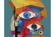 Digital Limited Editions / #Quirky #Funky #PopArt #Interiors #Furnishings #davidbowie #art #design #painting #photography #music #britishicons #comedy #retro #tatemodern #saatchi #artfinder #home #prints #bauhaus #geometric #abstract #pablopicasso #cubism #london #punk #viviennewestwood #damienhirst #warhol #ninasimone #jacksonpollock #davinci #dada #manray #magritte #mondrian #seurat #alanturing #debbieharry #andywarhol #modern #MOMA #petshopboys #abfab #monalisa #katebush #amywinehouse #madonna #pietmondrian #delaunay
