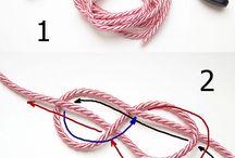Cord bracelet diy
