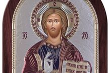 Jesus Christ Greek Orthodox Icon