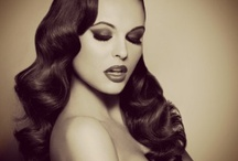Vintage hairstyles / Love these romantic styles