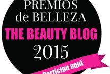 BEAUTY BLOG AWARDS 2015 / Premios Beauty Blog  Premios de Belleza