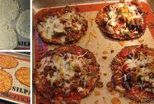 Pizza crusts/wrap recipes