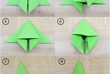 Origami/Pliage/Decoupage