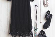 Clothing: B/W & Gray/Grey