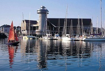 We love Falmouth / We're really lucky to have the vibrant town of Falmouth nearby with its harbour, seafront and iconic landmarks such as the National Maritime Museum Cornwall and Pendennis Castle. For people coming to us for the day or our holiday cottage guests - a visit to Falmouth is a must!  Places to stay near Falmouth: http://bit.ly/11Hs6o2