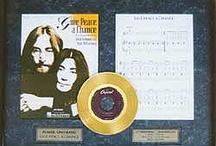 Framed Gold Records