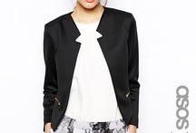 Karina: navy bolero outfits